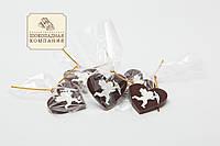 Шоколадные сердечки.  Шоколадные амуры. Шоколадные валентинки., фото 1