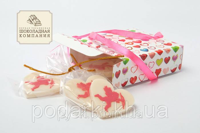 Набор шоколадных сердечек для любимой девушки