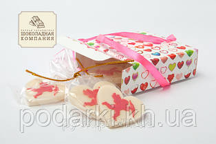 Набор шоколадных сердечек Амурчики