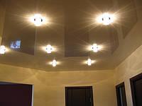 Потолок натяжной металлик, перламутровый
