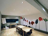 Потолок натяжной ткань Дескор