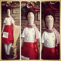 Куклы ручной работы Повар 0335