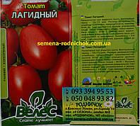 Детерминантный ранний томат имеющий удлиненно сливовидные гладкие плоды, отличная консервация сорта Лагидный