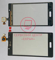 LG  P705 Optimus L7 сенсорний  екран, тачскрін чорний