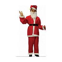 Костюм Санта  Клаус, Новый год детский