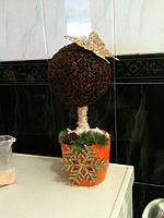 Кофейное Дерево ручной работы  0366