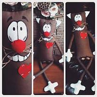 Куклы игрушки ручной работы Кот 0365