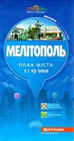 Карта Мелитополя
