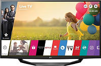 Смарт тв LG 49LH590V 1920x1080, 450Гц, Wi-Fi, DVB-T2/C/S2, черный.