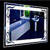 Настенное зеркало «Дыхание Дракона» 60 см на 80 см
