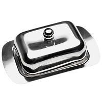 Масленка с металлической крышкой