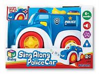 """Машинка """"Полиция"""" для малышей, музыкальная, Keenway,  K12842, /Ю"""
