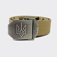 Ремень с Гербом Украины - хаки
