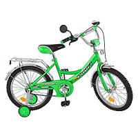 Детский двухколесный велосипед PROFI 14д(арт. P 1442), зеленый