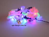 Новогодняя гирлянда LED Светодиодная 40 ламп 5 метров