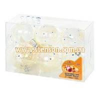 Набор ёлочных шаров, d=6 см, 8222