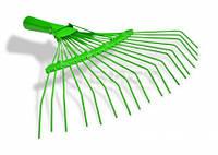 Грабли веерные проволочные, 22зубца, окрашенные (Украина)