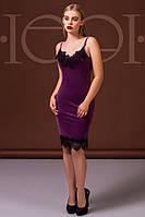 Шикарное женское платье без рукава