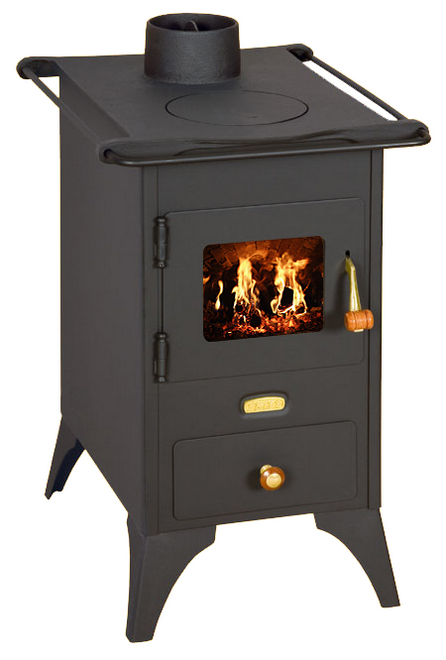 Отопительно-варочная печь на дровах Prity Mini