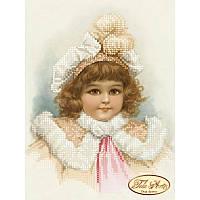 Схема для вышивания бисером Tela Artis Серьезная Маргарет ТМ-003