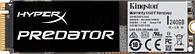 M.2SATA-SSD-MLC 240GB Kingston HyperX Predator Type 2280 PCI-E 2.0 (SHPM2280P2/240G)