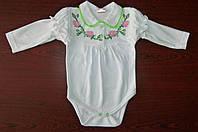 Детские вышиванки Полукомбинезоны для девочек Боди фото