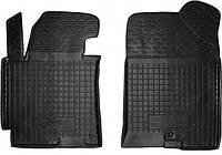 Полиуретановые передние коврики для Hyundai Elantra V (MD/UD) 2014-2015 (AVTO-GUMM)