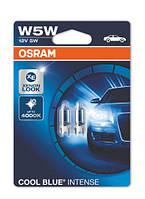 Лампочка Osram Cool Blue Intense W5W (2шт.)
