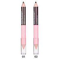Двусторонний карандаш для бровей MAC A push-up Bra for your eyebrown