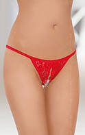 Женские стринги String 2227 S-L красный