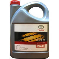 Моторное масло Toyota Engine Oil Semisynthetic 10W-40 5л