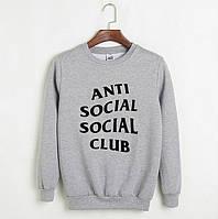 Стильный мужской свитшот Anti Social (5 цветов)