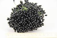 Цветочная тычинка черная 0,5см 480шт