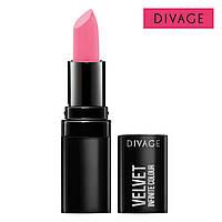 Матовая губная помада VELVET DIVAGE №01 розовый