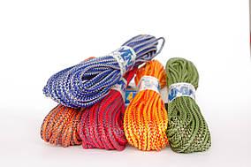 Шнур полипропиленовый твердый цветной 4мм 20м