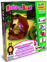 Набор для лепки стартовый Маша и Медведь, Clay Buddies, Giromax (306437)