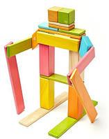 Набор из 24 магнитных деревянных блоков (светлые тона) Tegu (24P-TNT-306T)