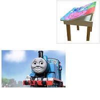 Деревянный столик со стульчиками «Паровозик Томас» 503-27 Vivast