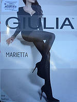 Еффектные колготки с геометрическим рисунком от Giulia