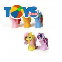 Детская игрушка - пищалка маленькая пони, 171R-PVC