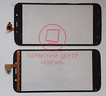 Umi Rome X / S-Tell M555 / Bravis a553 сенсорний екран, тачскрін чорний