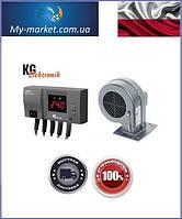 Комплект автоматики для твердотопливного котла KG Elektronik CS20 - DP02