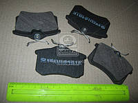 Колодка тормозная AUDI A4, A6 заднего (производитель Intelli) D481E