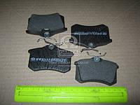 Колодка тормозная VW PASSAT заднего (производитель Intelli) D653E