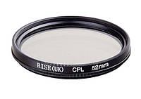 Поляризационный фильтр RISE CPL 52 mm