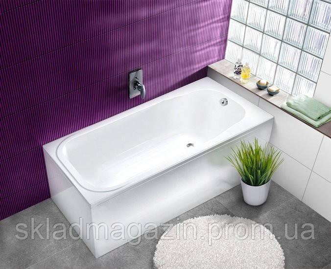 Акриловая пристенная ванна Коломбо