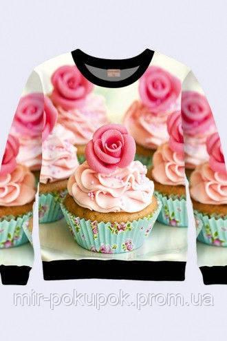 Свитшот для девочки Пирожное