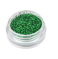 Снег для ногтей зелёный порошок