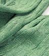 Шикарний жіночий теплий шарф 180 на 45 dress 2102_зелен, фото 2