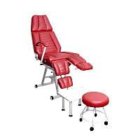 Педикюрно-косметологическое кресло КП-3 с аксессуарами